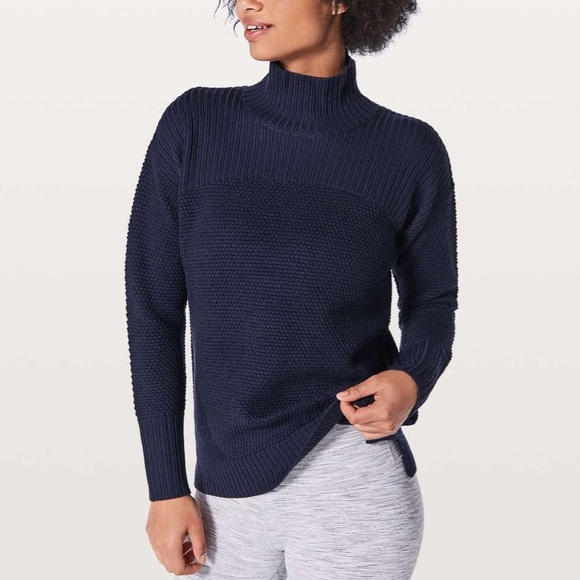 Lululemon Merino Wool Warm & Restore Sweater 10